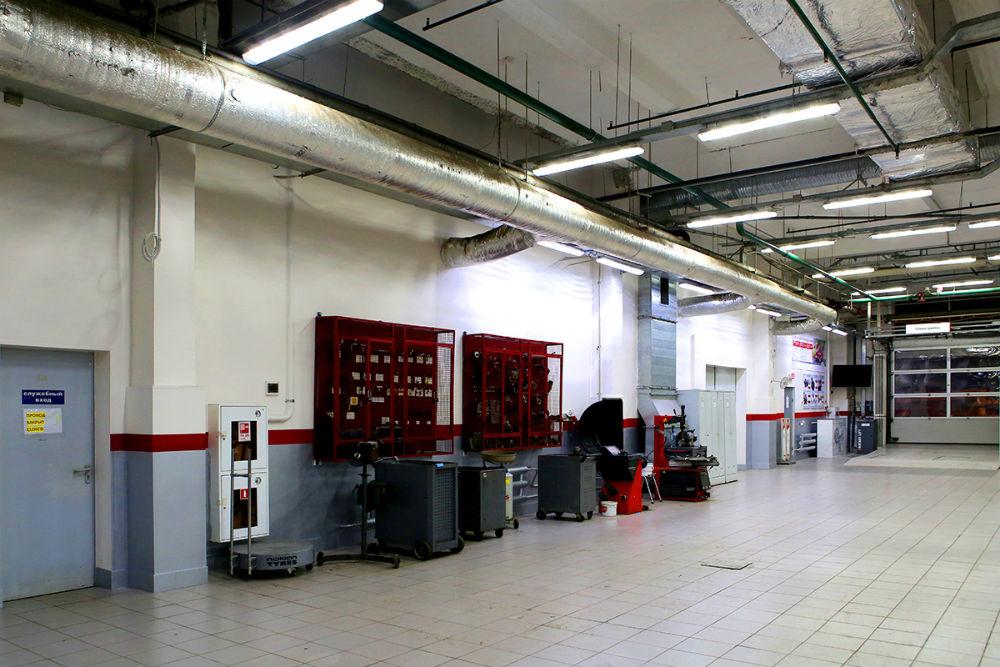 Multi Drywall Partition Llc : Refurbishment in a multi brand car dealership for avtomir