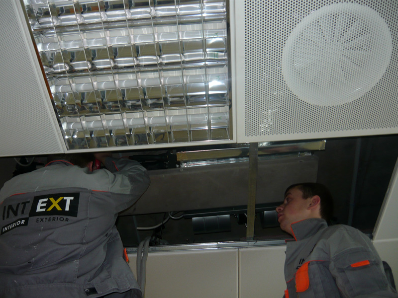 Installation Of Fan Coil Units
